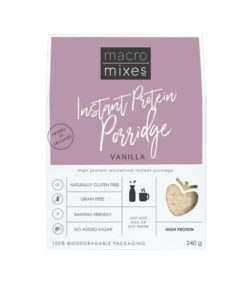Vanilla Protein Porridge Macro Mixes